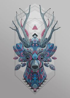 https://www.behance.net/gallery/33542907/DEER-CIERVO