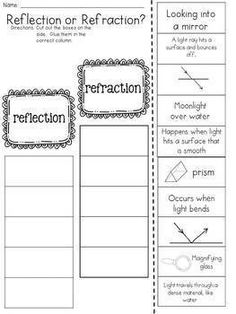 Primaryleap Co Uk Mirror Reflections Worksheet