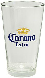 Enjoy a cold Corona in this officially licensed Corona Extra pint glass, just like you get at your favorite bar!