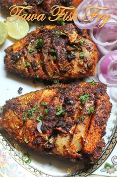 LUNCH IDEAS...Tawa Fish Fry.. Recipe: http://www.yummytummyaarthi.com/2015/02/tawa-fish-fry-recipe.html