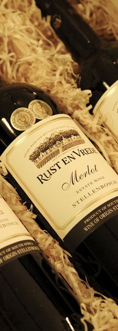 The Rust en Vrede Merlot. South African Wine, Pulled Pork, Wines, Rust, Ethnic Recipes, Food, Shredded Pork, Essen, Meals