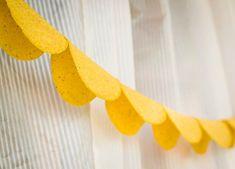 cinco de mayo party idea! Make garland out of taco shells.