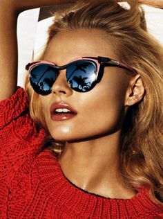 Mirror, Mirror on the Sunglasses, the hottest summertime trend is reflecting off the fashion runway and into the streets. Would you sport them?