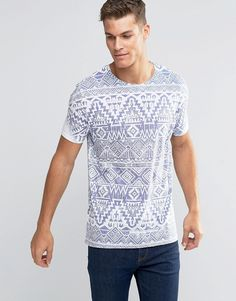 Discover men's t-shirts and vests at ASOS. Shop from plain, printed and long sleeve t-shirts and vests to longline and oversized styles with ASOS. T Rex Shirt, Taco Shirt, T Shirt Vest, Aztec T Shirts, Asos T Shirts, Hang Ten, Smart Casual Men, African Shirts, Retro Girls