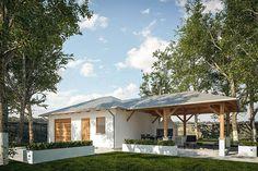 projekt G294 - Budynek garażowo - gospodarczy PRA1323