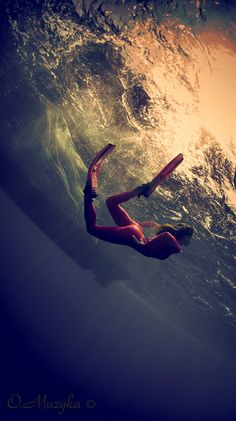 Diving. would love to be able to swim in the ocean sans life vest