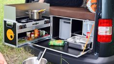 Cheaper and simpler than some of the alternatives, the QUQUQ camping box turns a regular vehicle into a camper that cooks, sleeps and cleans.