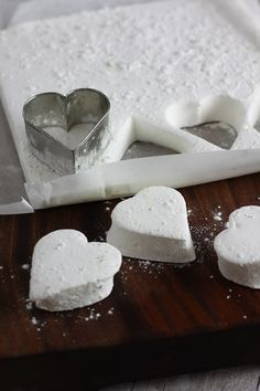 heart shape gin and tonic marshmallows by recipes made easy