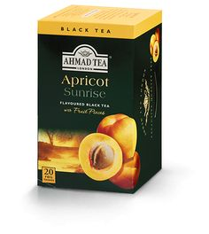 The distinctive flavor of apricots makes this black tea particularly wonderful. Surprise yourself and your guests at teatime by serving it hot with warm scones or iced with fresh fruit. Add a slice of lemon if preferred. Fruit Tea, Fresh Fruit, White Peony Tea, Ahmad Tea, English Tea Store, Apricot Fruit, Black Tea Bags, Coffee Store