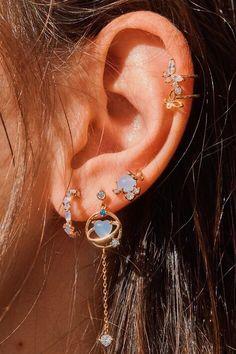 Dainty Diamond Earrings in Solid Gold / Chevron Earrings / V Stud Earrings /. - Dainty Diamond Earrings in Solid Gold / Chevron Earrings / V Stud Earrings / Delicate Diamond Studs / Graduation Gift – Source by - Fake Piercing, Cute Ear Piercings, Cartilage Piercings, Peircings, Cartilage Earrings, Helix Earrings, Helix Ear Piercing, Mouth Piercings, Types Of Ear Piercings