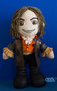 Rumplestiltskin Once Upon A Time Plush Art Doll // READY TO SHIP - One of a kind. $220.00, via Etsy.