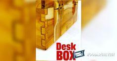 Desk Box Plans - Woodworking Plans and Projects | WoodArchivist.com