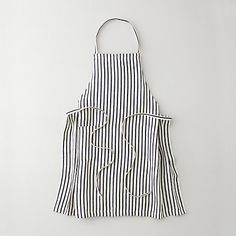 Striped aprons, yes please! Definitely need some fun aprons in my next house. Maybe sew them?