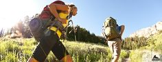 Backpacking training: The summer months are quickly approaching and it's time to get serious about training for backpacking. If you want to get into shape for backpacking. Solo Camping, Camping Guide, Camping And Hiking, Camping Hacks, Outdoor Camping, Camping Ideas, Camping Supplies, Camping Essentials, Outdoor Gear