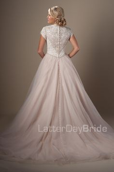 Modest Wedding Dresses : Ravenna. Latter Day Bride, Gateway Bridal & Prom