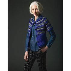 Crochet Cardigan - Free pattern from Michaels:  https://www.michaels.com/on/demandware.static/Sites-Site/Sites-siteCatalog_michaels_US/default/v1408481318108/project_pdf/57211.pdf