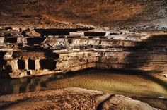 Wild cave tours at Hidden River Cave & guided tours all year; Horse Cave, KY