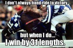 Secretariat's Belmont Stakes Victory.