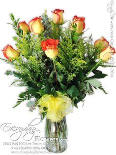 Dozen Long Stem Circus Roses. http://www.everydayflowers.net/r47.html