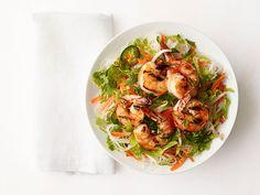 Rice Noodle-Shrimp Salad recipe from Food Network Kitchen via Food Network