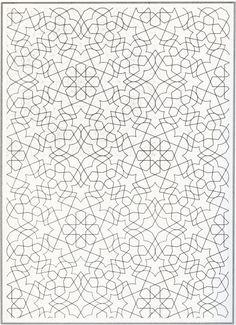 Nice Arabic pattern.