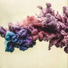 Alex Nero | Featured Art Takes Paris Entrant Nero photographs paint inside of a water tank to achieve this crazy effect.