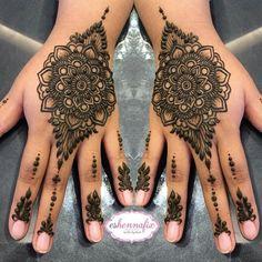 Arabic Henna, Henna Mehndi, Henna Art, Mehendi, Hand Henna, Cool Tattoos, Tatoos, Simple Mandala, Bridal Henna