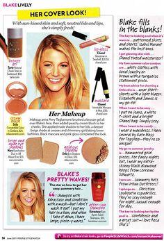 Blake Lively makeup (for summer)
