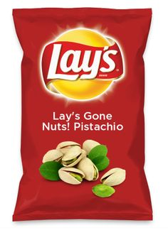 Wouldn't Lay's Gone Nuts! Pistachio be yummy as a chip? Lay's Do Us A Flavor is back, and the search is on for the yummiest flavor idea. Create a flavor, choose a chip and you could win $1 million! https://www.dousaflavor.com See Rules.