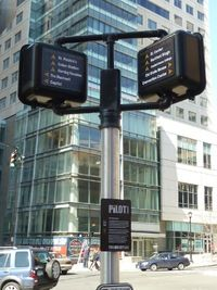 The iQult Plan – Downtown Hartford  Pedhead wayfinding signs