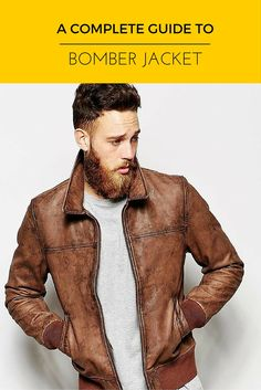 Leather Bomber Jacket Every Man wants!— Mens Fashion Blog - #TheUnstitchd