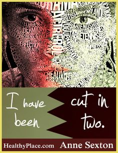 Bipolar quote: I have been cut in two. http://www.healthyplace.com/bipolar-disorder/