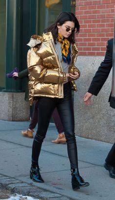 Doudoune martelasse puff coat capotto quilted jacket gomos alcochoados dourado