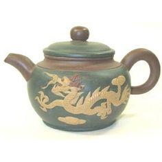3 Color Dragon Teapot