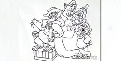 Oh-ee-yoh! Epic TaleSpin art