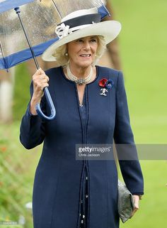 Camilla, Duchess of Cornwall during Somme Centenary Commemorations on July 1, 2016 in Thiepval, France. Today marks exactly 100 years since the beginning of the battle of the Somme.  (Photo by Chris Jackson/Getty Images)