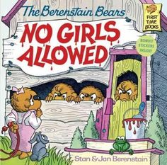 Sister Bear can run faster, climb higher, and hit a ball farther than the boys, and she gloats over it. So Brother Bear and his friends build a clubhouse for boys only, and Sister is hopping mad! She