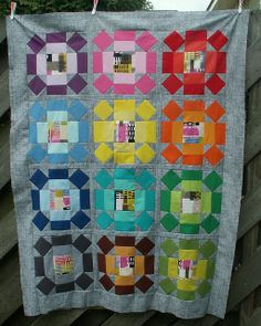 grumpystitches:  14 Playtime Top Finished by Alphenquilts on Flickr.