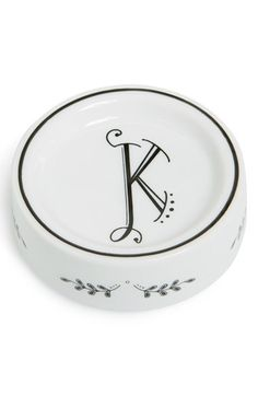 Free shipping and returns on Rosanna 'Calligraphie' Porcelain Dish at Nordstrom.com. A shallow porcelain dish gorgeously painted with a vintage Parisian embroidery design is the perfect way to decorate your desk or boudoir with a romantic and personal touch.