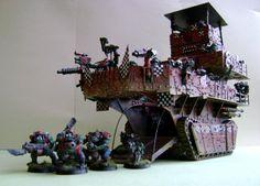 Ork - Scratch built and Converted models (and some Chaos) - Forum - DakkaDakka | Its that sound a machine gun makes.