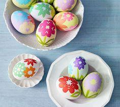 Origami Flowers | 40 Creative Easter Eggs