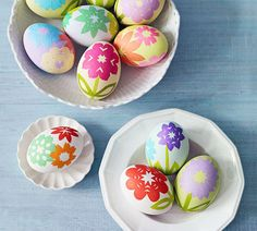 Origami Flowers | 40 Creative Easter Eggs