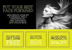 Put your best face forward with these incredible specials at Spa Trouvé! Www.spatrouve.com