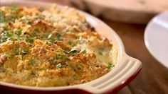 Glam mac and cheese by Lorraine Pascale - do with GF pasta and GF bread crumbs