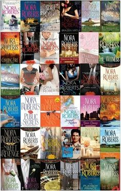 Nora Roberts - I've read almost everything by her. Romance with intrigue. Always good.
