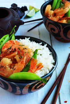 Thai Basil Shrimp «