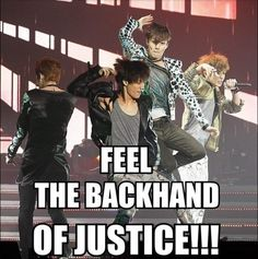 Go Lay!! XD don't hurt Kai too much though...then I saw Chanyeol in the background...I laughed waayy too much.