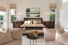 Gorgeous master bedroom design idea