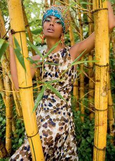 Foulard cheveux afro crépus naturels