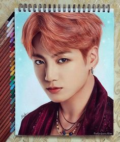 If I could draw like this I wouldn't need expensive posters 😭 Jungkook Fanart, Kpop Fanart, Bts Jimin, Kpop Drawings, Pencil Drawings, Color Pencil Art, Fan Art, Bts Chibi, Bts Fans